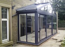 Outdoor Glass Room - conservatory solutions limited