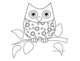 coloring page of an owl free coloring pages on art coloring pages