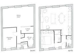 plan salon cuisine sejour salle manger amenagement cuisine ouverte sur salon 10 plan salle 224 de a