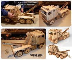 mega toys giant lumber truck wood toy plan set juguetes