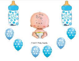 boy baby shower balloon kits baby shower mania