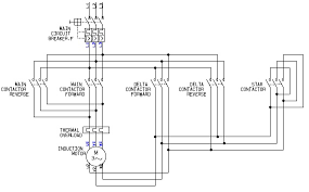 motor forward reverse control circuit diagram u2013 readingrat net