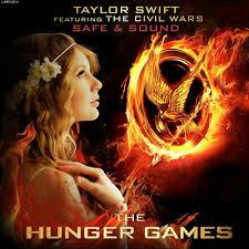 hunger games theme song single review taylor swift featuring the civil wars safe sound