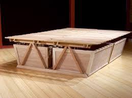 Easy Platform Bed With Storage Diy Platform Storage Bed Full U2014 Modern Storage Twin Bed Design