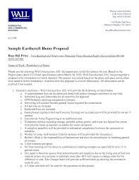 8 best images of bid proposal letter example sample construction