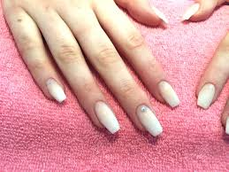 french fade baby boomer acrylic nails youtube