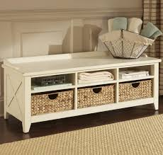 altra penelope entryway storage bench with cushion image on