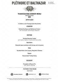 thanksgiving in sobe plethore et balthazar 0 family events