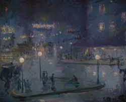 electric paris u0027 at bruce museum illuminates with impressionist