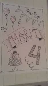 schrijven 101 birthday cards pinterest doodles bullet and
