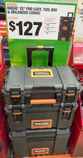 black friday home depot power tools ridgid pro tool box black friday 2015 deal