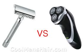 electric shaver is better than a razor for in grown hair safety razor vs electric shaver cool men s hair