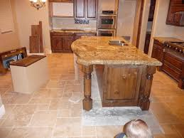 Kitchen Island Granite Countertop Beautiful Kitchen Island Granite Overhang R Inside Inspiration