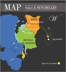 Seychelles Map World U0027s Ultimate Luxury Travels Safari And Seychelles Ultimate