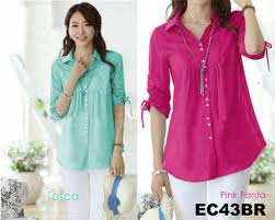 blouse wanita ec43br blouse reina elok collection baju wanita murah