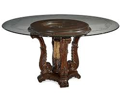 glass top for table round aico victoria palace round glass top dining table ai 61001 29