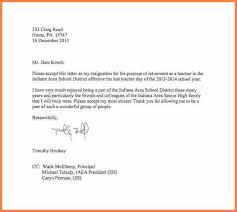9 teacher resignation letter sample resign letter job