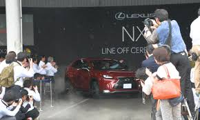 lexus usa manufacturing lexus starts nx production in japan revives kanda factory