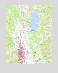 map ukiah ukiah ca topographic map topoquest