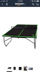 franklin sports quikset table tennis table franklin sports quikset table tennis toys games north bay kijiji