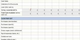 Daily Flow Template Excel Annual Flow Statement Template Excel Excel Flow Template
