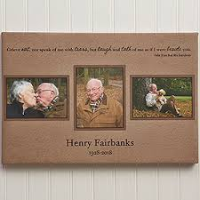 personalized in memory of gifts custom 3 photo memorial collage 12x18 wonderful sympathy gifts