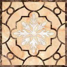 china marble pattern waterjet custom design marble