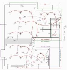 wiring diagram for house lighting circuit and electrical simple