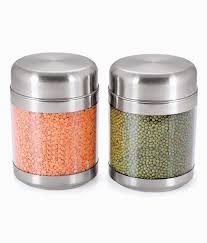 sizzle clear containers 1200 ml set of 2 twist jar s12 buy online