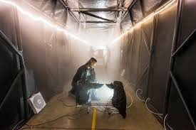 halloween smoke machine fog chamber provides testing options that could improve security