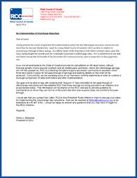 Sle Credit Card Charge Dispute Letter retail council of canada encouraged by minister of finance