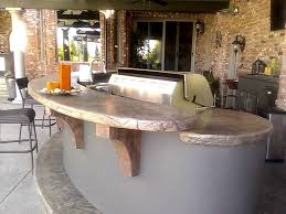 specialties concrete countertops for barbecues and outdoor kitchens