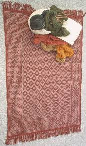 Kilim Bath Mat The Knitting Needle And The Damage Done Magic Knitted Carpet Ride