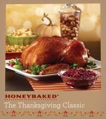 honeybaked half ham turkey breast dinner thanksgiving ham