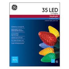 ge energy smart c9 50 led light set multi