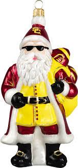 usc santa with sunglasses usc collegiate