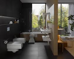 bathroom fantastic nice ideas with amazing black subway creative