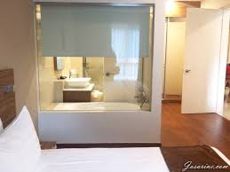 See Through Bathroom My Weekend Trip Off To The Haven Resort Ipoh Living Every Moment
