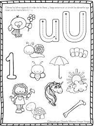 imagenes q inicien con la letra u educación preescolar la revista práctica de vocales vocal u u