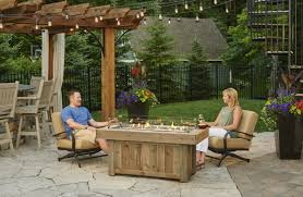 Fire Patio Table by Vintage 1242 Fire Table