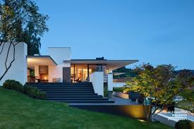 Modern Hill House Designs German Contemporary House On Top Of The Hill
