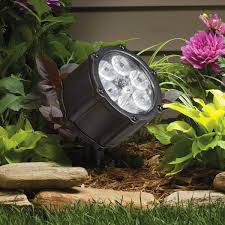 Kichler Landscape Lights 12 Volt Led 60 Degree Accent Light Textured Black