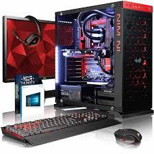 pack ordinateur de bureau vibox species x gl780 158 pack pc gamer intel 4 asus strix