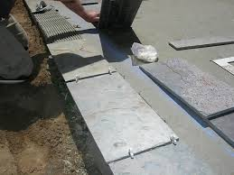 Slate Patio Pavers How To Build A Slate Patio How Tos Diy