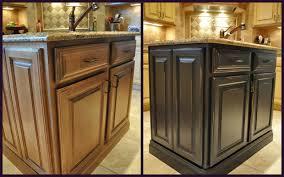 Black Kitchen Cabinets Ideas Kitchen Island Black Cabinets Ideas Painting Kitchen Black