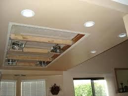 Drop Ceiling Track Lighting Top Diy Recessed Lighting Installation In A Drop Ceiling Inside