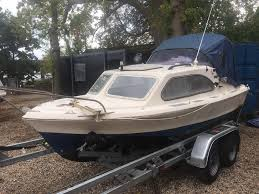 Boat Shetland 535 Johnson 40hp Outboard In Bursledon Hampshire