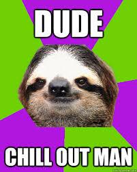 Angry Sloth Meme - angry sloth