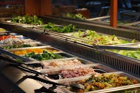 Buffet Salad Bar by Salad Bar Downtown San Diego The Front Page Deli