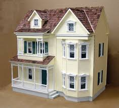 front opening country victorian dollhouse kit dollhouses kits